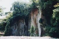 荒島石石切場跡